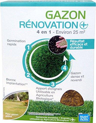 Florendi Jardin Nona Semences Rénovation - Blanc 19,3 x 6 x 26 cm