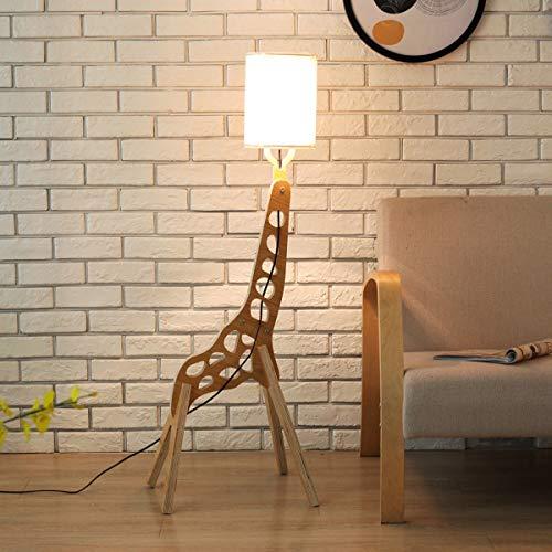 LAMPES DE PLANCHER TORCHIERES ZXC YWXLigh Lampadaire Giraffe Assemblé DIY Blanc Chaud (Couleur : Blanc)