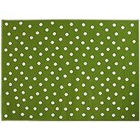 Lorena Canals A-G DOT-GR Dots Green/Verde, 140 x 200 cm
