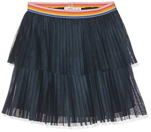 NAME IT Mädchen Rock NKFDIAR Skirt, Blau (Dark Sapphire), (Herstellergröße: 140)