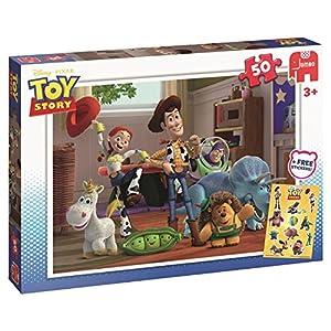 Jumbo Disney Toy Story 50 pcs Puzzle - Rompecabezas (Puzzle Rompecabezas, Dibujos, Preescolar, Disney Pixar Toy Story, Niño, 3 año(s))