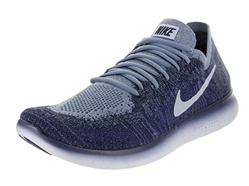 Nike Free RN Flyknit 2017 Schuhe Sneaker Neu Men´s (EU 41 US 8 UK 7, Ocean Fog/Cirrus Blue)