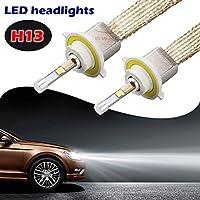 sweon 2pcs 80W h134800LM Cree Lampadine auto LED lampada bianco 6000K allo xeno kit di conversione per H1H3H4H7H1190049005900690079012