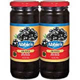 Abbie's Black Pitted Olives, 450g, Pack of 2, Product of Spain