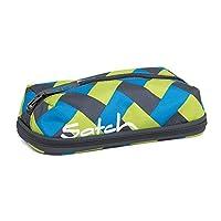 SATCH Chaka Curbs Federmäppchen SAT-PEN-001-9D4, 22 cm, 1 L, Blue Green Bricks