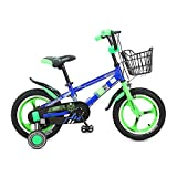 Kinderfahrräder 12 14 16 Zoll Kinderräder Jungen und Mädchen 2-8 Jahre Alt Kinderwagen Rad Speichenrad Ein Rad Blau (Farbe : One Wheel, Größe : 14 inch)