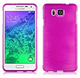 Samsung Galaxy ALPHA Silikon-Hülle in PINK von Cadorabo -