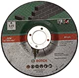 Bosch Home and Garden 2609256325 Cutting disc with Depressed Centre, Stone, 125 mm