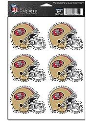 San Francisco 49ers 6-Pack Magnet Set