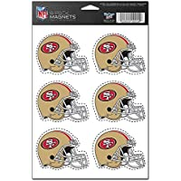 NFL San Francisco 49ers 6-Pack Magnet Set