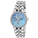 #8: Espoir Analogue Blue Dial Girl's and Women's Watch - GlitterBlue0507