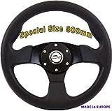 [TÜV_M1] DoradoTuning Volante Sportivo Ø 300mm Rally/Deriva/Gara/Universale/Nero