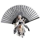 LEI ZE JUN ☀ RWMX Giapponese Anime Girl Modello Carino Kimono Sorella Auto Decorazione Otaku Computer Desktop Due Yuan Scultura Bambola (Colore : Bianca)