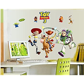 Revesun Toy Story Buzz Lightyear Kids Wall Sticker For Kids Room Wall Decals  Kids Decorative Stickers Part 66
