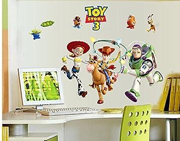 Elegant Revesun Toy Story Buzz Lightyear Kids Wall Sticker For Kids Room Wall Decals  Kids Decorative Stickers DIY Cartoon Stickers: Amazon.co.uk: Kitchen U0026 Home