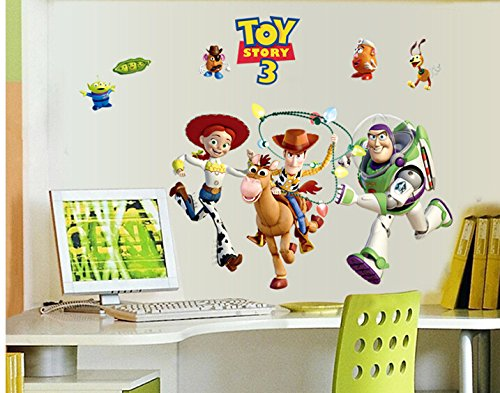 Revesun Toy Story Buzz Lightyear Kids Wall Sticker For Kids Room Wall Decals  Kids Decorative Stickers DIY Cartoon Stickers: Amazon.co.uk: Kitchen U0026 Home Part 8