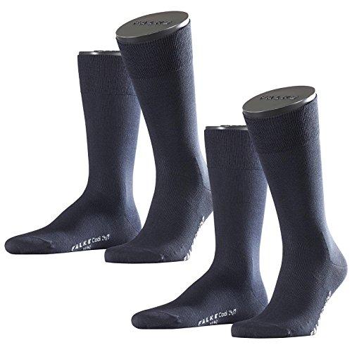 Preisvergleich Produktbild Falke City Herren Socken Cool 24/7 2er Pack, Größe:43/44;Farbe:dark navy (6370)