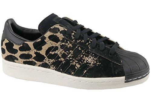 adidas Zapatillas Superstar 80S W Leopardo / Negro EU 39 1/3 (UK 6)