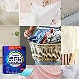 MXBIN 2 Fogli Box lavanderia a secco Giornale smacchiatore Super Concentrated Gentle lavatrice Abbigliamento detersivo in polvere Formula Strumenti di riparazione hardware