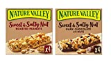 Nature Valley Crunchy Granola Oats Wholegrain Protein (Sweet & Salty Nut (Pack of 2))