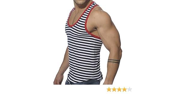 01e139b9997 ES collection Débardeur Marin Rouge  Amazon.fr  Vêtements et accessoires