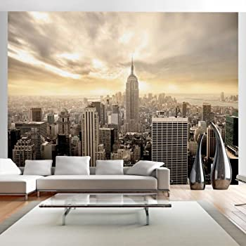 Murando papier peint intiss 350x270 cm papier peint tableaux muraux - Papier peint xxl new york ...