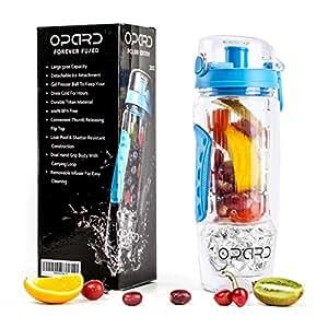 opard trinkflasche 1 liter fruit infuser sports. Black Bedroom Furniture Sets. Home Design Ideas