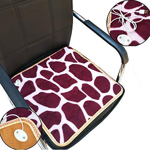 Usb riscaldamento cuscino termico elettrico pet cane gatto letto tappetino coperta calda per cane gatto coniglio colore casuale 45*45 cm