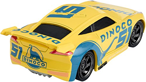 "Image of Disney Cars DXV71 ""Cars 3 Dinoco Cruz Ramirez"" Die-Cast Vehicle Toy"