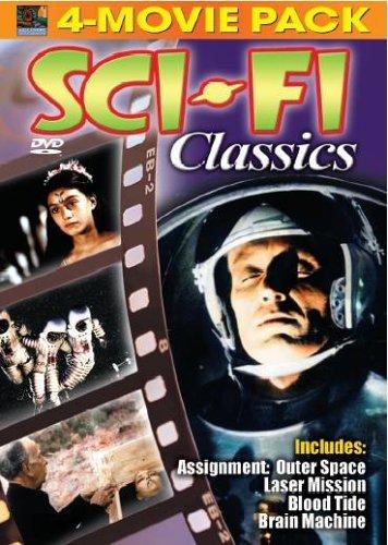 Bild von Sci-Fi Classics: Assignment Outer Space; Laser Mission; Blood Tide; Brain Machine [4-Movie Pack]