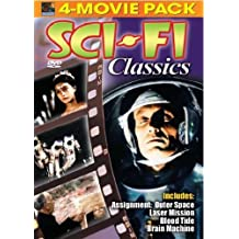 Sci-Fi Classics: Assignment Outer Space; Laser Mission; Blood Tide; Brain Machine