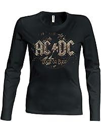 AC/DC Rock or bust Girlie Longsleeve t-shirt