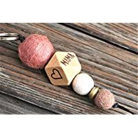 Schlüsselanhänger mit Name oder Wort // MUM //Hochzeitsgeschenk // Muttertag // Schlüsselanhänger // MAMA // personalisierbar //