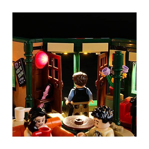 BRIKSMAX Kit di Illuminazione a LED per Lego Idee Central Perk,Compatibile con Il Modello Lego 21319 Mattoncini da… 5 spesavip