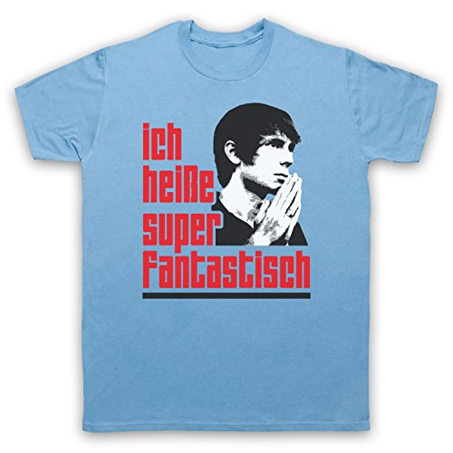 Inspiriert durch Franz Ferdinand Darts Of Pleasure Unofficial Herren T-Shirt Hellblau