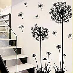 YiGo Dandelion Home Décor Wall Sticker, PVC
