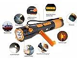 W'rangal 9 en 1 Multifunción de emergencia de emergencia de seguridad de rescate herramienta de...