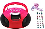 Teknofun MINI Boombox Radio/Radio-réveil MP3 Port USB
