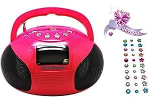 Teknofun - 811162 - Mini Boombox Bluetooth - Rose