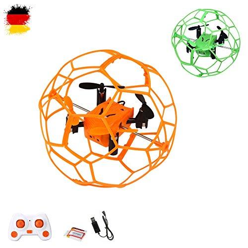 4.5 Kanal RC ferngesteuerter Flying-Ball, Drohne, Quadcopter, Hubschrauber, 2,4Ghz Modell mit vielen Besonderheiten, Modellbau, Neu OVP