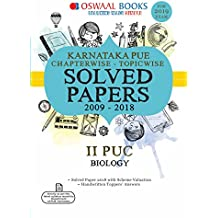 Oswaal Karnataka PUE Solved Papers  II PUC Biology Chapterwise and Topicwise (For March 2019 Exam)