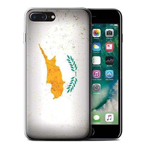 Coque Gel TPU de STUFF4 / Coque pour Apple iPhone 6 / Kosovo/Kosovar Design / Drapeau Europe Collection Chypre/Chypriote