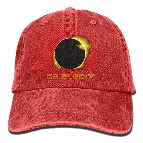 Hipiyoled Total Solar Eclipse 2017 Baseball Caps Denim Men Women Hüte 5Z895 - Denim-baseball-hüte Womens