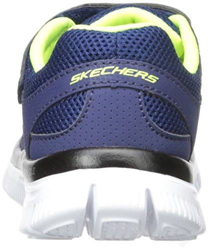 Skechers Flex Advantagemaster Dash Jungen Low-Top Blau (NVYL)
