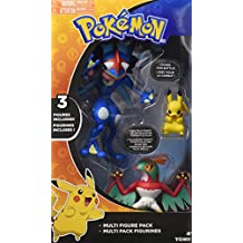 Pokemon t19165d2 Pokemon Action Figure Multi-Pack D2 contiene 5 pezzi da 6 cm