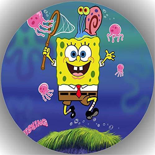 Fondant Tortenaufleger Tortenbild Geburtstag Spongebob T25