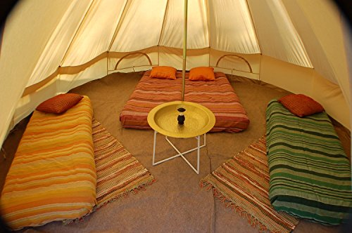 Cozy House Bell Tent ... & Cozy House Four Seasons Homecamp Bell Tent with Stove Jack. Heavy ...