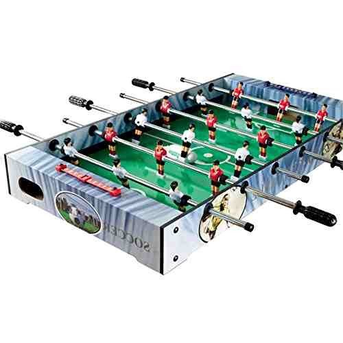 Gamesson Striker II Top Football Table - Black/Green, 3-Feet