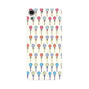 Skintice Designer Back Cover with direct 3D sublimation printing for HTC Desire 728G