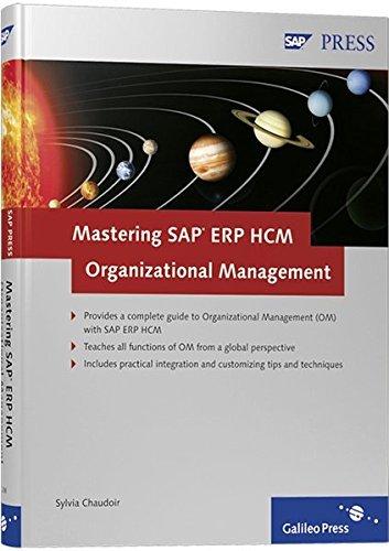 Mastering SAP ERP HCM Organizational Management by Sylvia Chaudoir (2008-07-28) par Sylvia Chaudoir